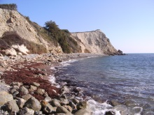 Woody Bay Isle of Wight used in A Killing Coast, DI Andy Horton