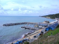 Ventnor Haven Isle of Wight featured in DI Andy Horton A Killing Coast
