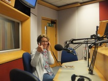 Pauline Rowson on BBC Radio Solent