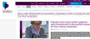 Pauline Rowsoncrime novels on literary map
