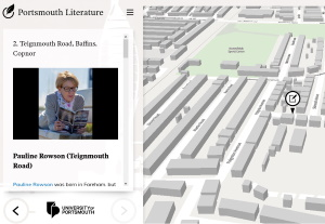Portsmouth Literary Map, Pauline Rowson