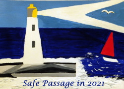 Pauline Rowson wishes you a safe passage in 2021