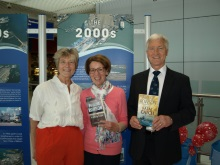 Pauline Rowson, Julie Blackwell and Martin Putnam, Portsmouth International Port