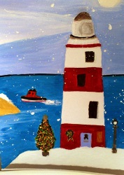 A Lighthouse Christmas by Pauline Rowson