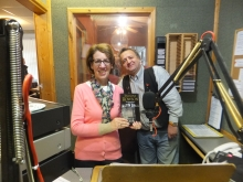 Pauline Rowson with Tony Smith, Angel Radio