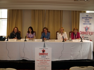 Pauline Rowson at Crimefest 2011