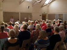 Emsworth WI audience enthralled by tales of crime with Pauline Rowson