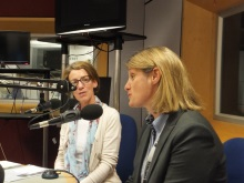 Pauline Rowson and DI Mandy Horsburgh on BBC Radio Solent
