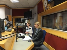 Pauline Rowson and DI Mandy Horsburgh on the Katie Martin Show BBC Radio Solent