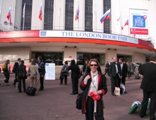 Pauline Rowson at the London Book Fair