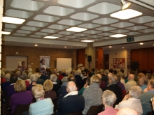 Pauline Rowson entertains audience at Monks Brook U3A