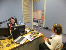 Pauline Rowson on Vectis Radio