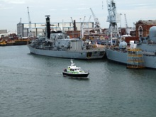 Portsmouth Naval Base and Harbour