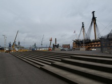 Portsmouth Historic Dockyard and HMS Victory