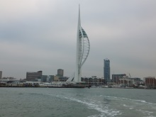 Portsmouth across the harbour from Gosport