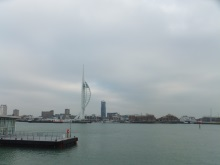 Portsmuth from the Gosport shore across the narrrow harbour entrance