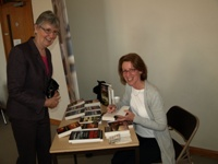 Pauline Rowson booksigning at Victim Support