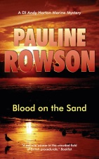 Blood on the Sand, the fith in the DI Andy Horton series by Pauline Rowson
