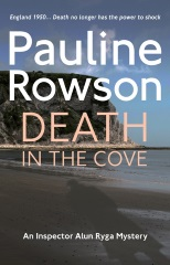 DEATH IN THE COVE an Inspector Ryga mystery by Pauline Rowson