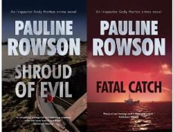 DI Andy Horton mysteries Shroud of Evil and Fatal Catch