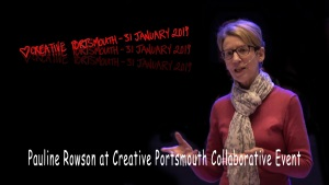 Pauline Rowson at Creative Portsmouth Eventt