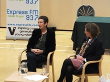 Ann Cleeves and Pauline Rowson