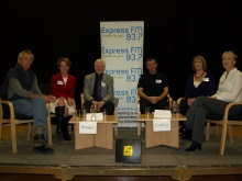 CSI Portsmouth 2010, crime authors and experts afternoon panel, authors