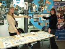 Hampshire Police Fingerprint Team at CSI Portsmouth 2011