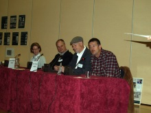 Crime authors at CSI Portsmouth 2011