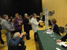 Booksigning at CSI Portsmouth 2012