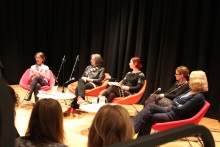 Crime Author Pauline Rowson on the Panel at CSI Winchester