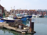 Town Camber - Portsmouth, scene from DI Andy Horton, Deadly Waters