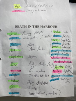 Death in the Harbour by Pauline Rowson, narrator's audio script