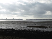 DI Andy Horton's Patch looking across to Portsmouth from Fareham Quay