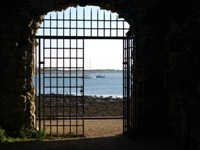 The Watergate, Portchester Castle, DI Andy Horton, Footsteps on the Shore