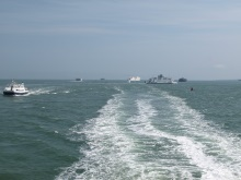 The busy Solent - Portsmouth to Isle of Wight, DI Andy Horton's patch