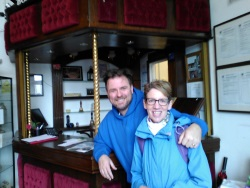 Pauline Rowson with Richard Stride Groundlings Theatre, Portsmouth