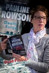 Pauline Rowson and some of her crime novels