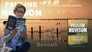 Pauline Rowson with Dead Passage and Death Lies Beneath