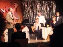 The denouement of Murder at the Pelican Club performed by Act One Drama and written by Pauline Rowsonl