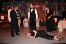 Tillie Trotman is dead- Murder at the Pelican Club performed by Act One Drama, Kent