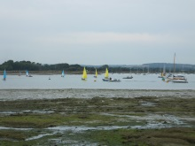 Sailing in Chichester Harbour featured in Art Marvik crime novel, Silent Running