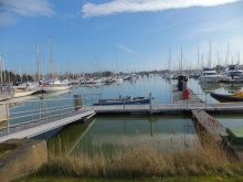 Chichester Marina where Marvik moored up in Silent Running