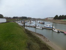 Littlehampton Marina - featured in Silent Runningd