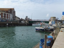 Approach to Weymouth Marina