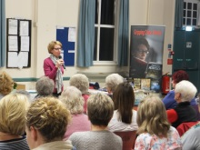 Stake WI Pauline Rowson talking about her crime fiction characters