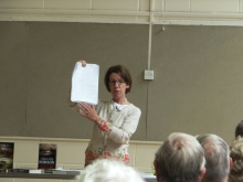 Pauline Rowson Speaking at Emsworth U3A