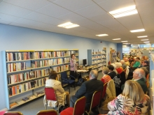 Pauline Rowson at Pyle Life Centre, Bridgend