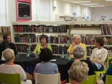 Crime panel event Waterlooville Library June 2013