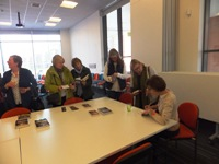 Pauline Rowson book signing at Whitley Bay Library